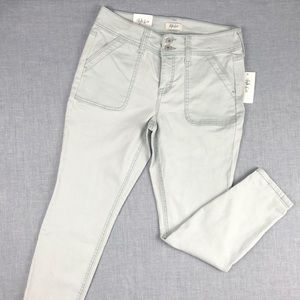 Style & Co Mint Mid Rise Skinny Jeans Size 8P